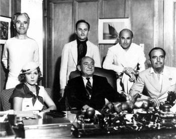 Chaplin, Zanuck, Goldwyn, Pickford, Schenk, Fairbanks