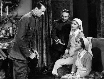 Gary Cooper, Adolphe Menjou, Mary Phillips and Helen Hayes
