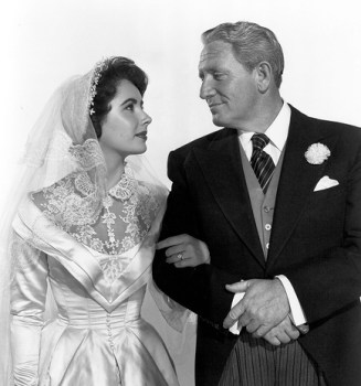 Elizabeth Taylor and Spencer Tracy