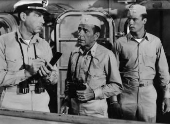 Fred MacMurray, Humphrey Bogart and Robert Francis
