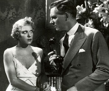 Ruth Chatterton and Walter Huston