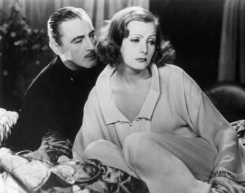 John Barrymore and Greta Garbo