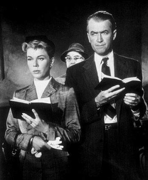 Doris Day and James Stewart