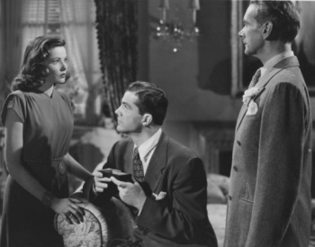 Gene Tierney, Dana Andrews and Clifton Webb