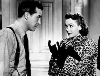 ray milland and Jane Wyman
