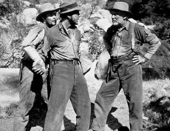 Tim Holt, Humphrey Bogart and Walter Huston