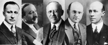 Zukor, Fox, Laemmle, Goldwyn and Lasky