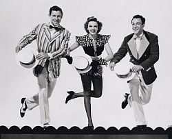 George Murphy, Judy Garland and Gene Kelly
