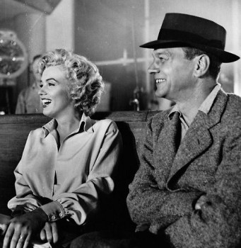 Marilyn Monroe and Joseph Cotten