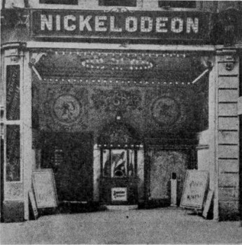 The First Nickleodeon