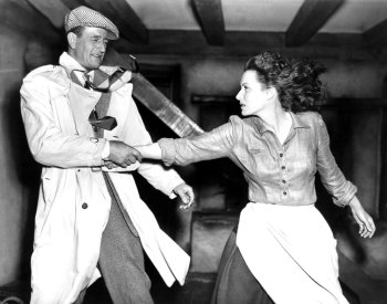 John Wayne and Maureen O'Hara
