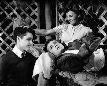 Sal Mineo, James Dean and Natalie Wood