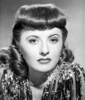 Barbara Stanwyck was one of the best known and most popular movie actresses ...