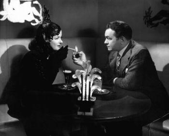 Joan Bennett and Edward G. Robinson